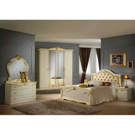 chambre coucher italienne panel meuble magasin de. Black Bedroom Furniture Sets. Home Design Ideas