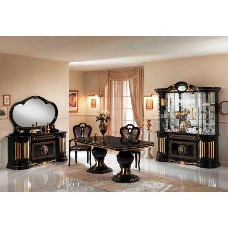 salle manger italienne 9 pi ces panel meuble magasin de meubles en ligne. Black Bedroom Furniture Sets. Home Design Ideas