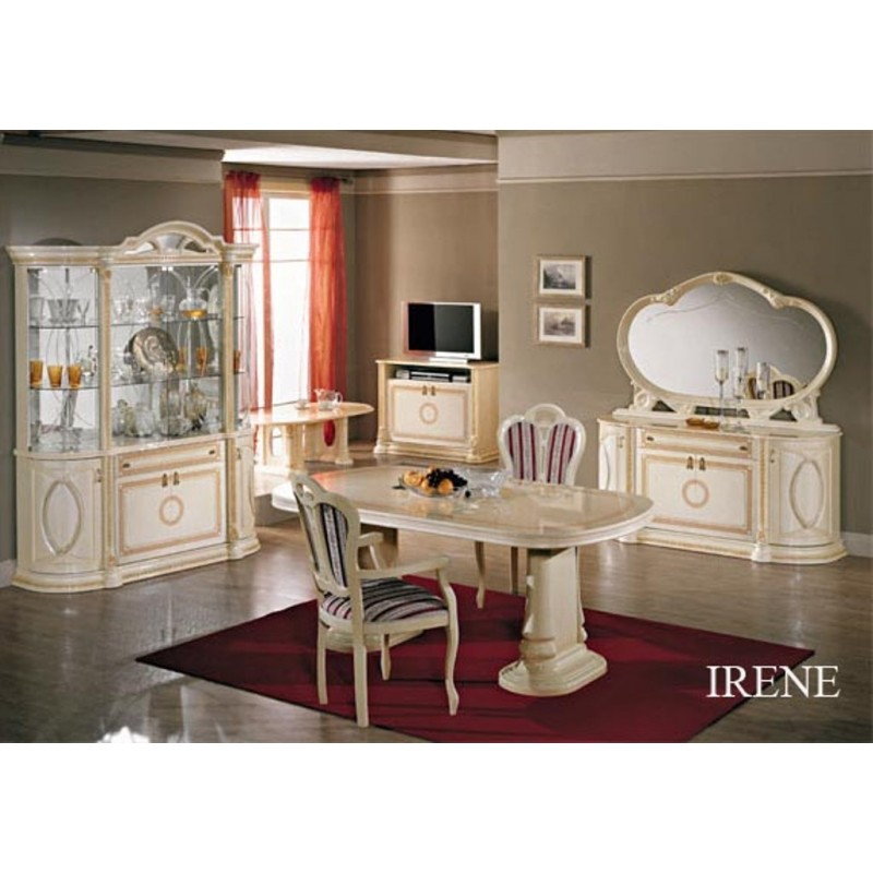 salle manger italienne et orientale 6 pi ces panel meuble magasin de meubles en ligne. Black Bedroom Furniture Sets. Home Design Ideas