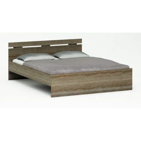 Lit Moderne 140 mélaminé - Panel Meuble - Magasin de meubles en ligne