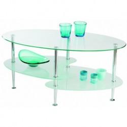 Table basse Moderne dessus verre