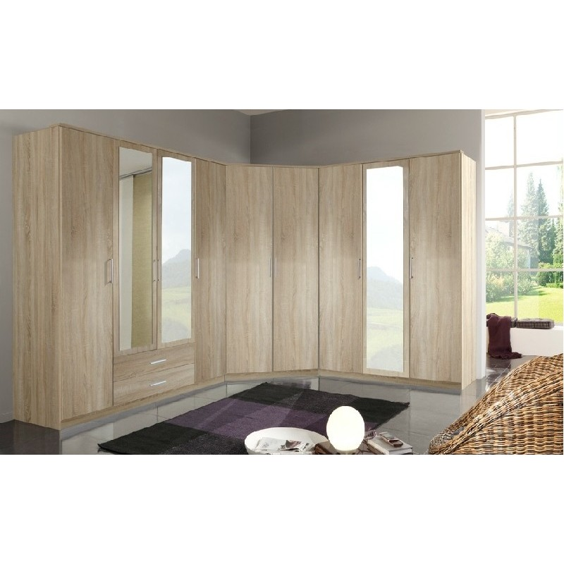 Dressing d 39 angle copie panel meuble magasin de meubles - Meuble dressing d angle ...