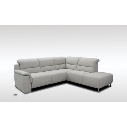 Canapé d'Angle Tissu Longo