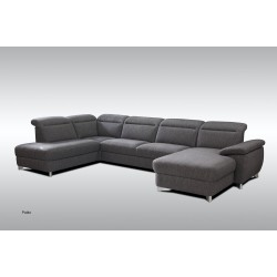 Canapé d'Angle Tissu Pablo