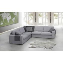 Canapé d'Angle Tissu Picasso