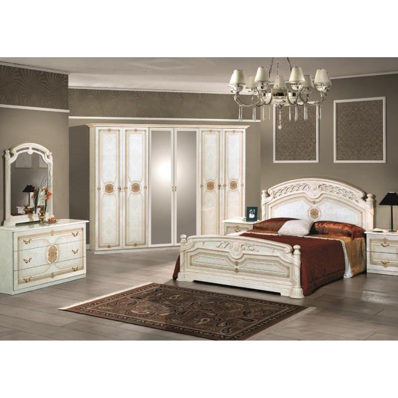 Chambre coucher compl te italo orientale panel meuble magasin de meubles en ligne - Les chambre a coucher ...