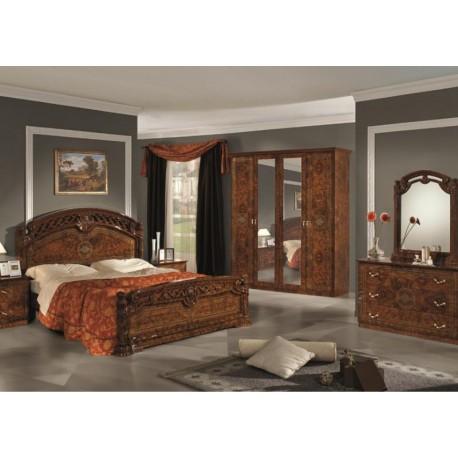 Chambre coucher compl te italo orientale panel meuble for Prix de chambre a coucher