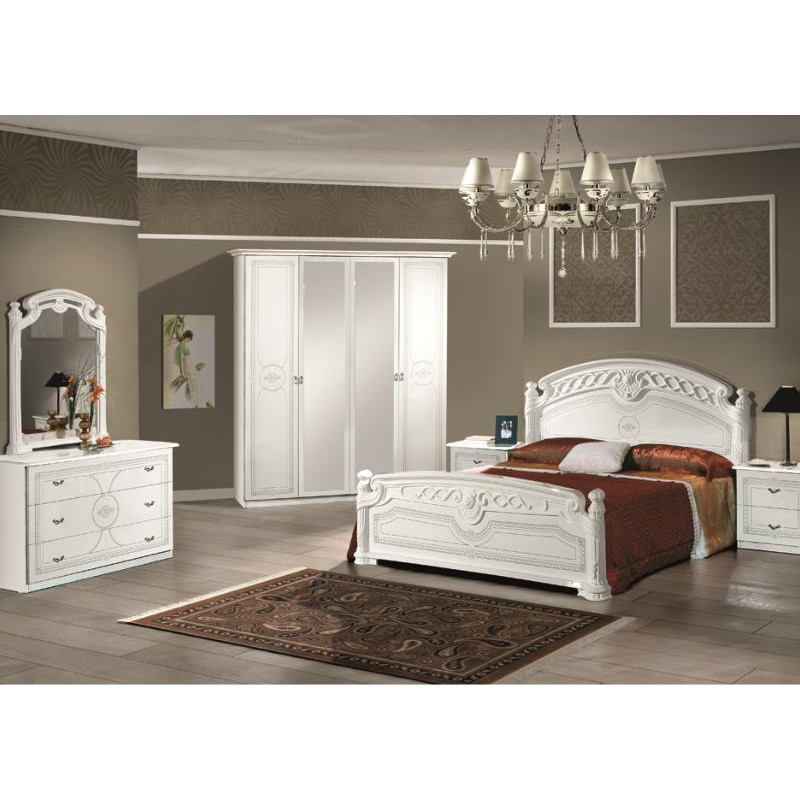 Chambre a coucher complete italienne 032805 for Chambre complete italienne