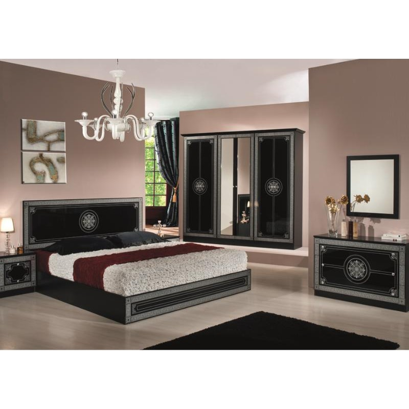 Chambre a coucher complete italienne 032805 for Meuble chambre complete