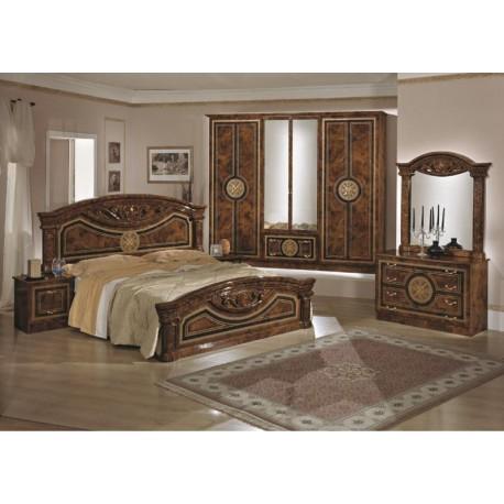 chambre coucher compl te italo orientale panel meuble magasin de meubles en ligne. Black Bedroom Furniture Sets. Home Design Ideas
