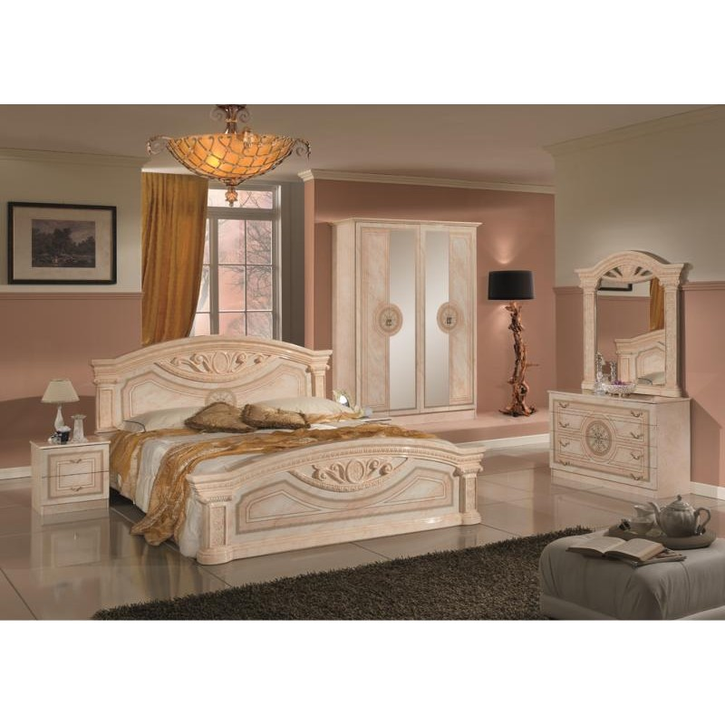chambre coucher complete italienne design de maison. Black Bedroom Furniture Sets. Home Design Ideas