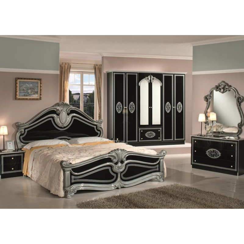 chambre a coucher complete italienne 032805. Black Bedroom Furniture Sets. Home Design Ideas