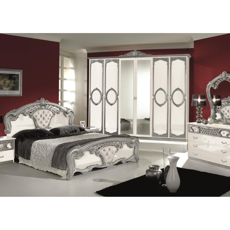 chambre coucher compl te italo orientale panel meuble magasin de meubles en ligne. Black Bedroom Furniture Sets. Home Design Ideas