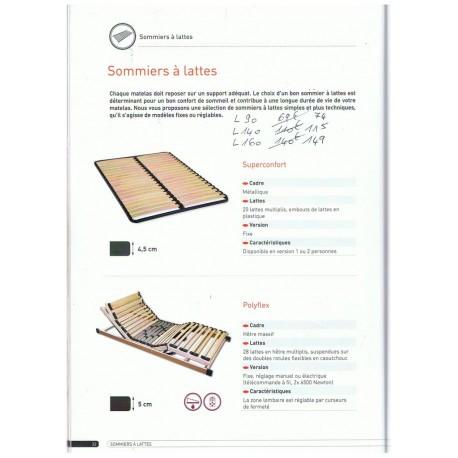 sommier cadre métal 160/200