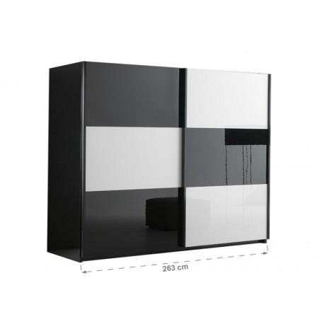 Armoire 2 portes coulissantes - Panel Meuble - Magasin de meubles en ...