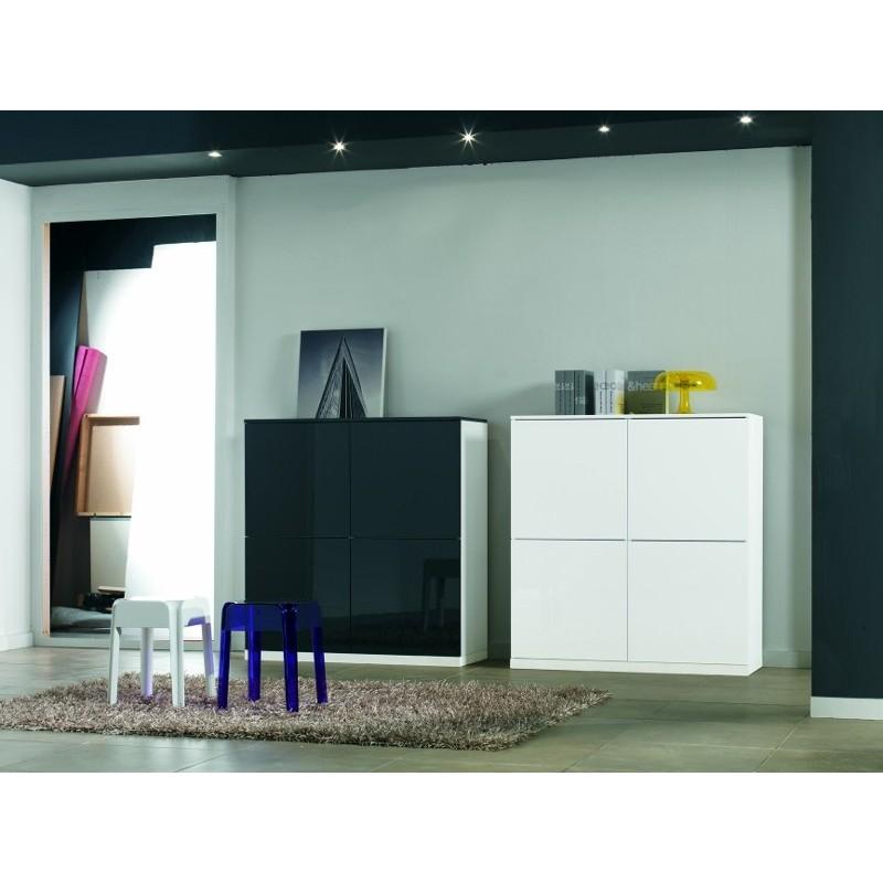 Paroi murale t l hifi video panel meuble magasin de for Meuble tele murale