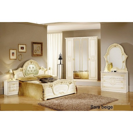 chambre coucher italienne baroque panel meuble magasin de meubles en ligne. Black Bedroom Furniture Sets. Home Design Ideas