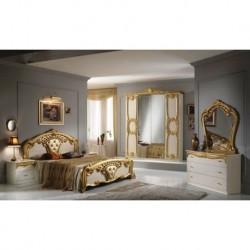 Chambre à coucher italienne 4 pièces