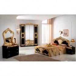 Chambre à coucher italienne complète 6pieces