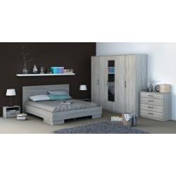 Chambre à coucher complète mélaminée