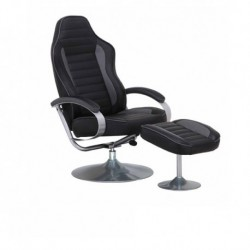 Fauteuil relax simili