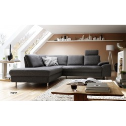 Canapé d'Angle tissu Aspen