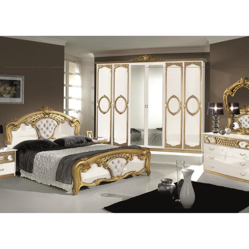 Chambre coucher compl te italo orientale panel meuble - Chambre a coucher adulte complete ...