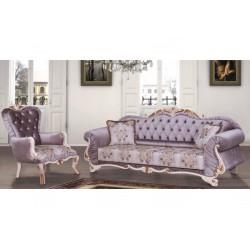 Canapé et fauteuil oriental de style