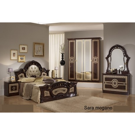 Chambre A Coucher Italienne Baroque Complete 6pieces Panel