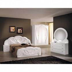 Chambre à coucher Italienne baroque complète 6pièces